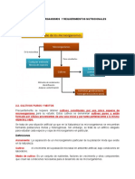 Unidad II Metodos de Aislamiento y Requerimientos de Los Microorganismos