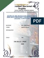 DISEÑO DE UNA INSTALACION AGROPECUARIA PARA AVES PONEDORAS Y PARRILLERAS-VALLE CHICAMA