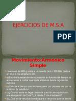 EJERCICIOS DE M.S.A