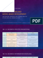 Business Analysis and Model-Based Development