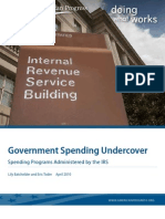 Government Spending Undercover