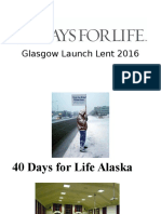 40 Days for Life 2016.