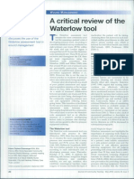 A Critical Review of the Waterlow Tool