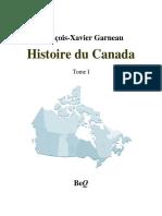 Histoire Du Canada, Garneau