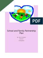 school and family partnership plan
