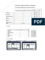 Ejercicios Resueltos Sobre Estadística Descriptiva