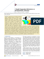 Pan - Assessment of Water Droplet Evaporation Mechanisms
