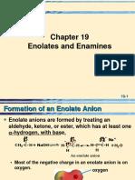 19 Enolates Enamines-2