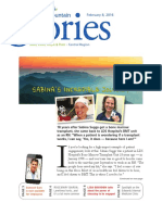 Intermountain Stories - Front Page Article