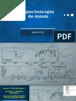 Espectroscopia de Masas_3,5 Dibromo 1 Isopropilbenceno