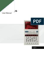 Relab LX480 Manual