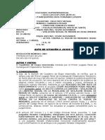 Exp. Nº 01011-2014-87-V.l.s. y Actos, Carcel, Abog. Particular, Tesigos, Peritos Actor Civil