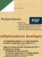 Multiplicadores, Etc Portafolio