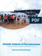 Rethink Tourism in the Andamans - Towards Building a Base for Sustainable Tourism
