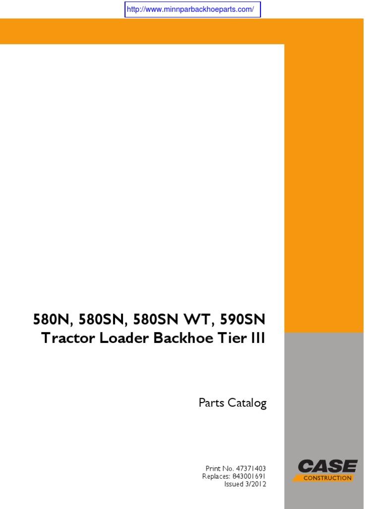 case 580 super n 1 rh scribd com Case 695 Tractor Review 695 Case International Tractors