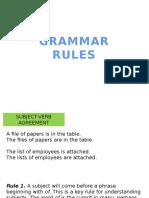 3 Grammar Rules