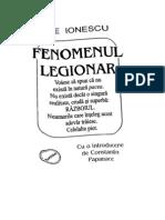 Nae Ionescu-Fenomenul Legionar