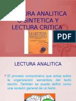 lectura analitica o  sintetica   y lectura critica.pptx