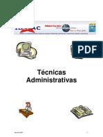 Contabilidade - Apostila Tecnicas Adm IDEPAC