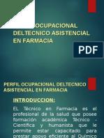 Perfil Técnica en Farmacia