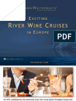 Exciting River Wine Cruises in Europe