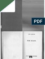 Por Marx.- Louis Althusser