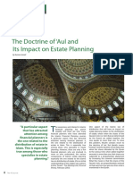 Doctrine of 'Aul and its Impact on Estate Planning