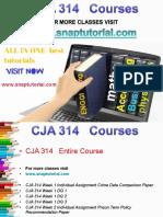 CJA 314 Proactive Tutors/snaptutorial