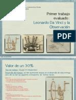 Primer Trabajo Evaluado Da Vinci y la observación