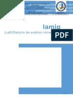 Montaje de Laboratorio de Analisis Mineral + Plomo