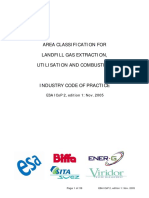 AREA CLASSIFICATION FOR LANDFILL GAS EXTRACTION