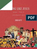 loving like jesus - year 3
