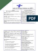Contabilidade - Impostos - Lista Impostos Encargos mpes