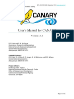 CANARY Users Manual 4.3.2