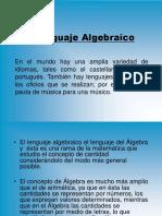 Lenguaje Algebraico y Ecuaciones Clase 3