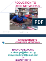 Introduction to Networking by Nkoyoyo Edward