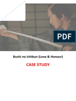 Bushi No Ichibun Case Study Booklet Revised