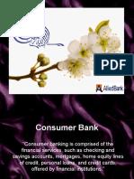 Consumer Bank Final Slides