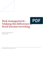 In-Depth PictetAM-FI Risk Managment