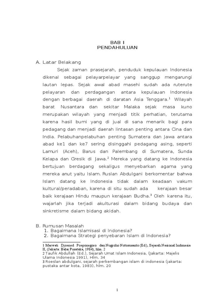 Makalah Tentang Sejarah Tradisi Islam Nusantara Seputar Sejarah