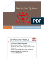 Overview of Toyota Production System (TPS)