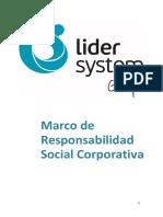 Lider System - Responsabilidad Social Corporativa