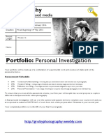 5 personal investigation project brief 2015-2016