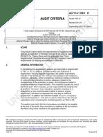 Ac7114-1 Rev h Audit Criteria for Nondestructive Testing Facility Penetrant Survey-1