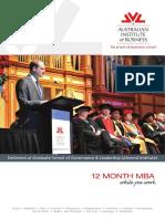Practical MBA School ( Australian Institute of Business)