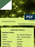 Presentasi Kasus Osteochondroma