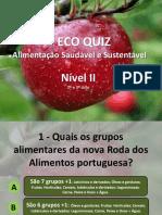 Eco Quiz | Alimentação Saudável e Sustentável | Nível II
