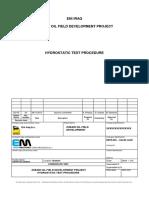 4b) EM15.002 Clar4b - Hydrostatic Test