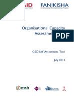 OCAT Self Assessment Tool