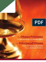 Ottawa Principles on Anti Terrorism and Human Rights